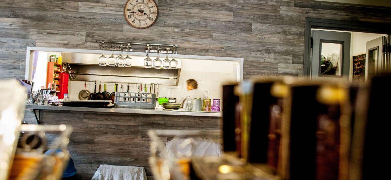 wine tour Bakaliko restaurant kitchen