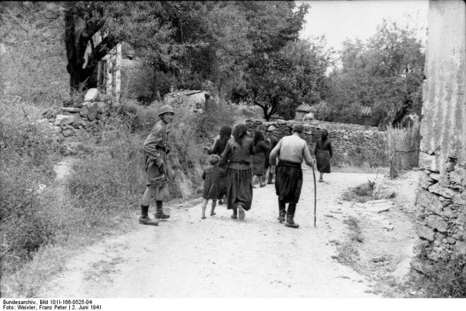 Kondomani massacre Crete world war 2