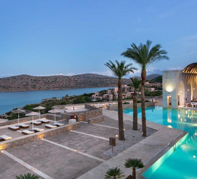 Blue palace Eloubda spa resort general view