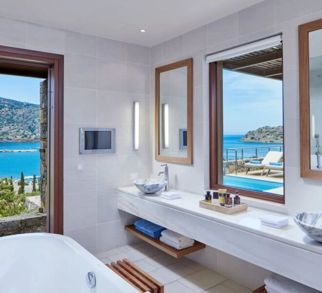 Blue palace Elounda spa resort room view