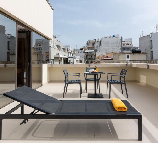Ibis style Heraklion terrace