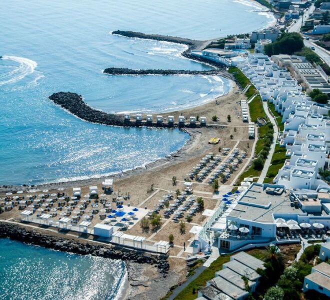 Knossos Beach Bungalows Suites Resort & Spa aerial view