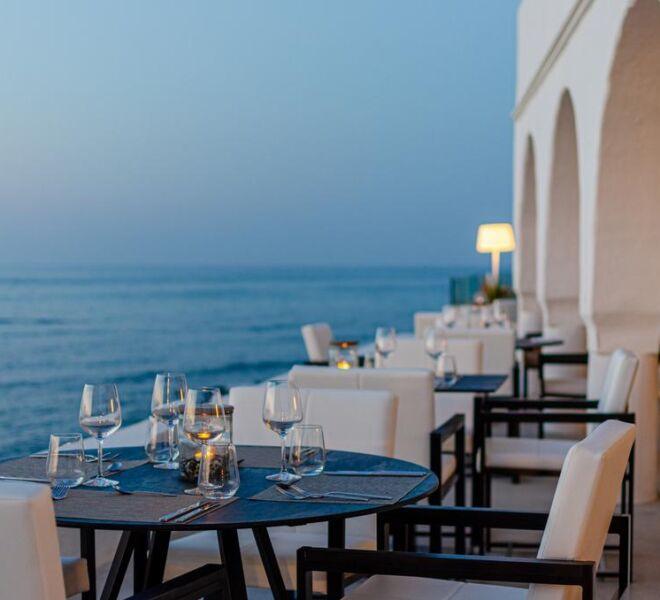 Knossos Beach Bungalows Suites Resort & Spa lounge view