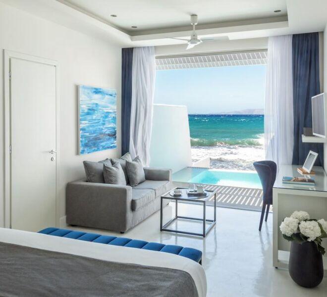 Knossos Beach Bungalows Suites Resort & Spa room