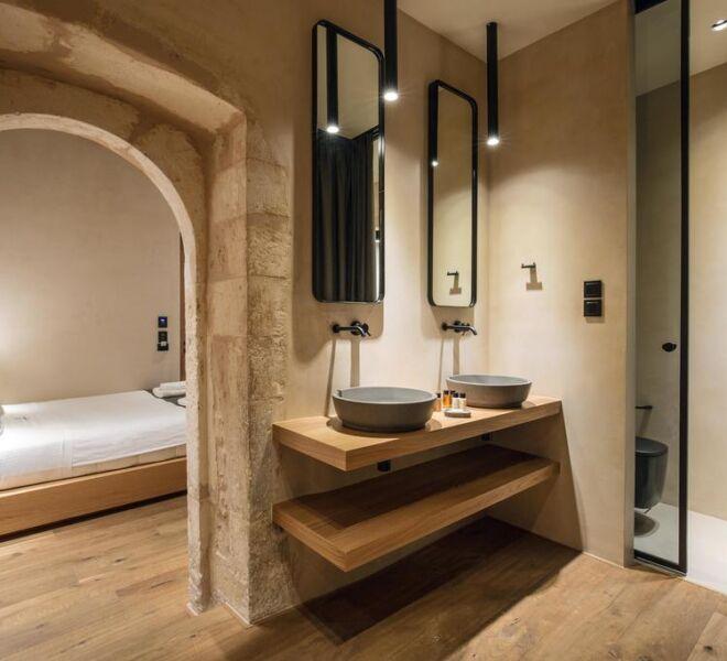 monastery estate boutique hotel bedroom bathroom