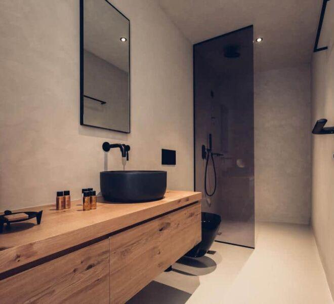 monastery estate retreat bathroom