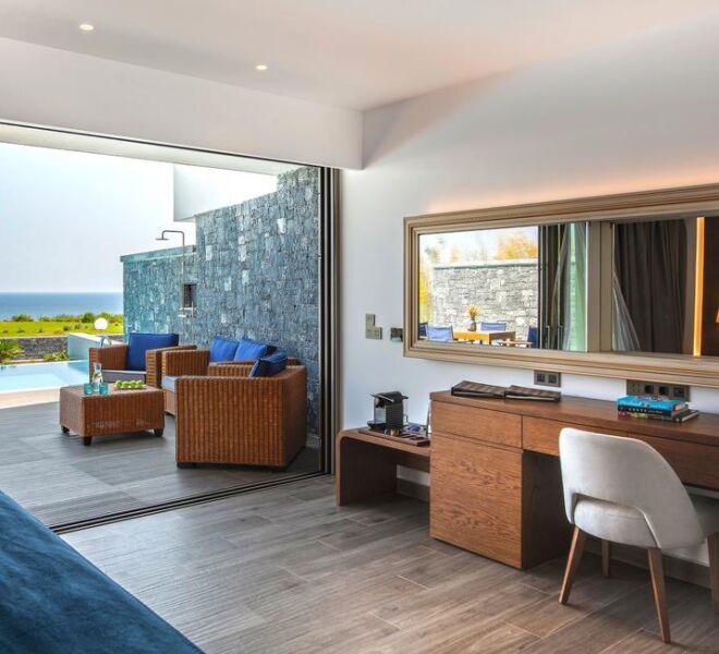nana princess suites villa resort and spa room view