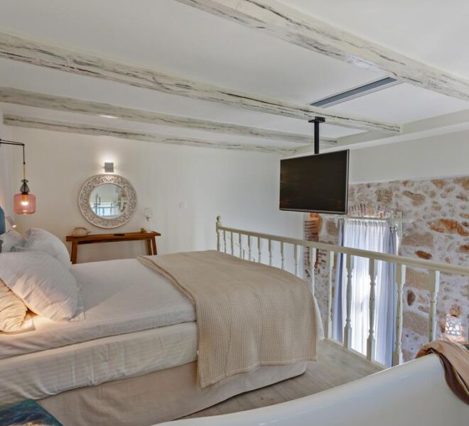 thalassa boutique bedroom