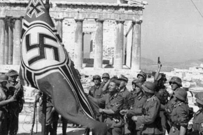 world war 2 Greece Crete Athens german troops