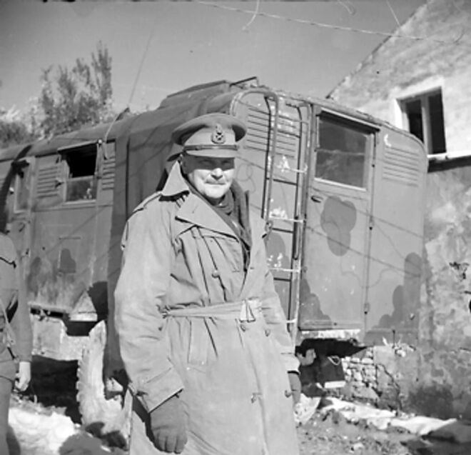 world war 2 in Crete major general freiberg,