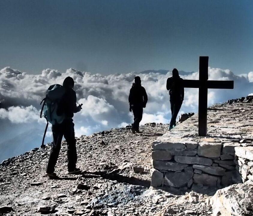 Psiloritis, highest mountain of Crete trail E4