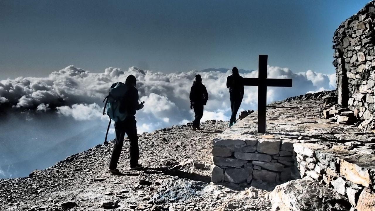 Psiloritis mountain Crete trail E4