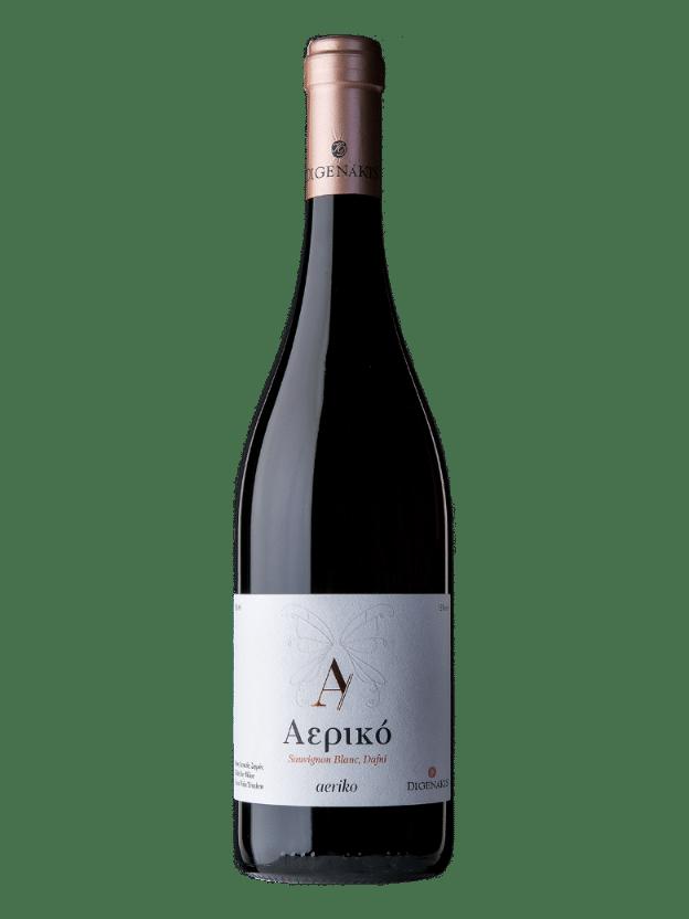 Digenakis winery aeriko white wine