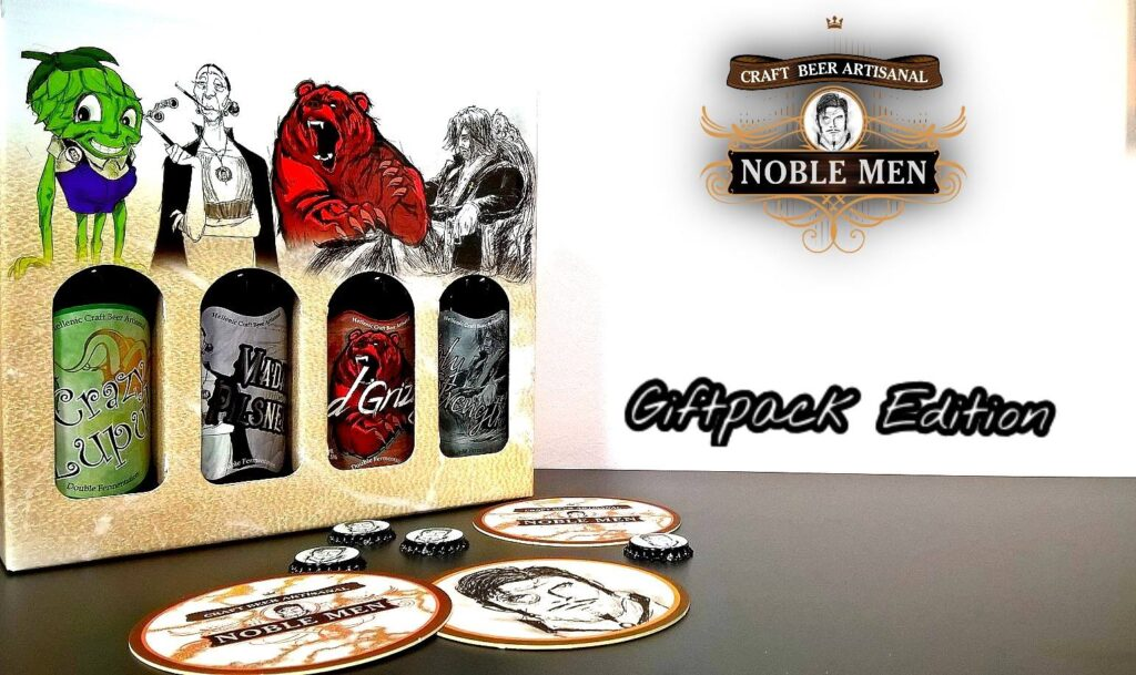 Noble men craft beer  giftpack edition