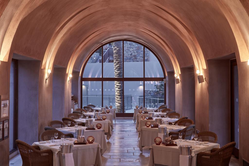 Blue palace spa resort restaurant view