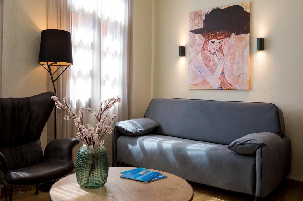 contessa boutique hotel bedroom view