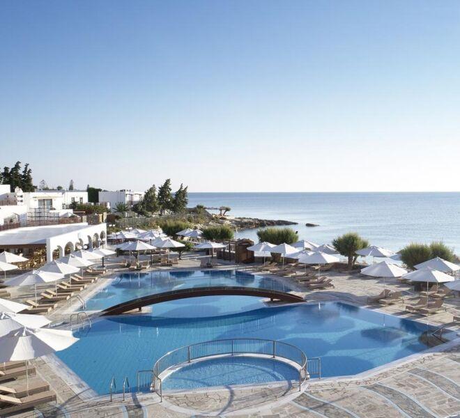 crete maris hotel spa resort general view