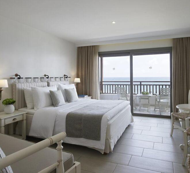 creta maris resort ansd spa view bedroom