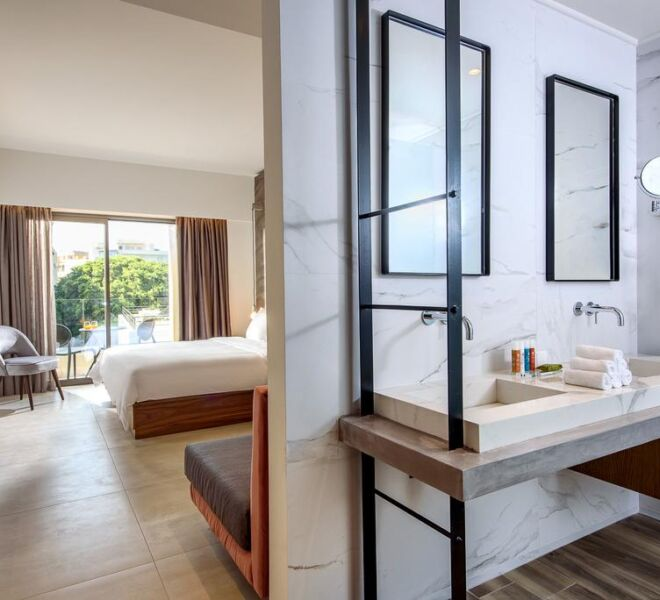 dom boutique hotel bedroom bathroom