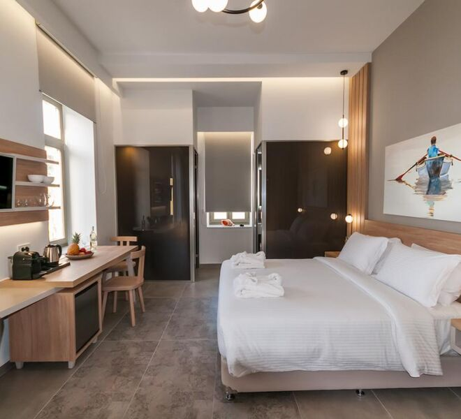 Epavli boutique hotel bedroom 2