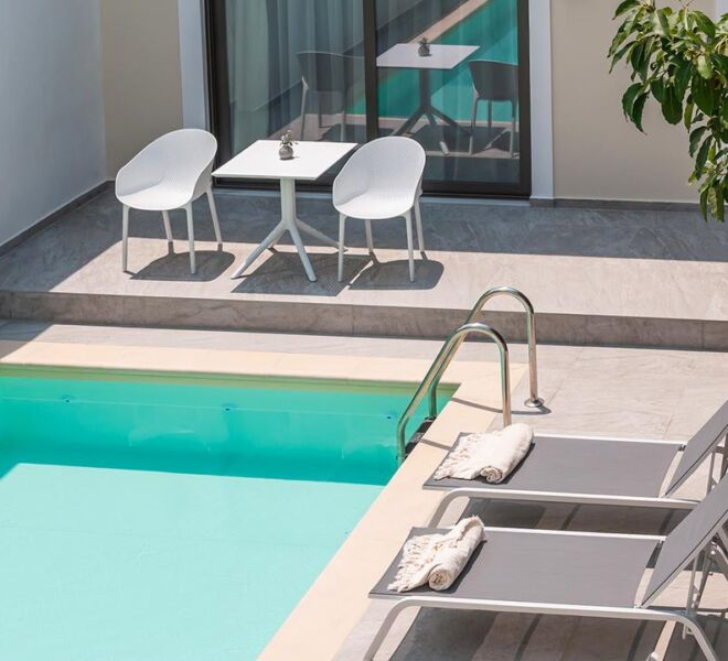 Epavli boutique hotel swimming pool