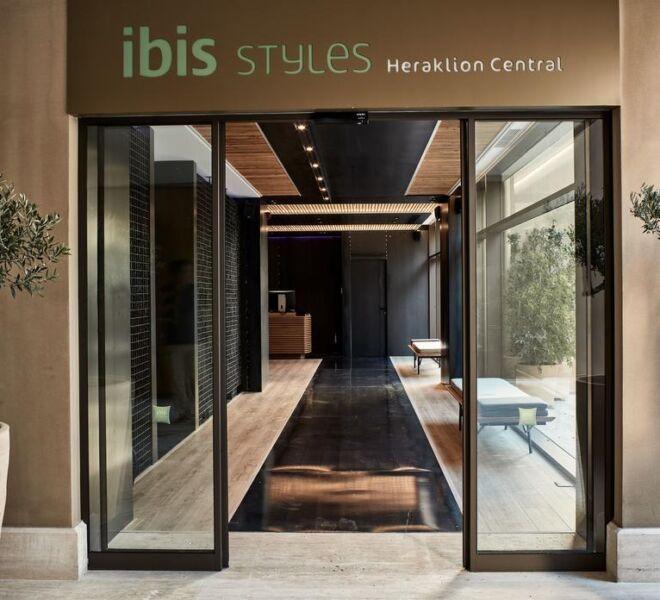 Ibis style Heraklion entrance