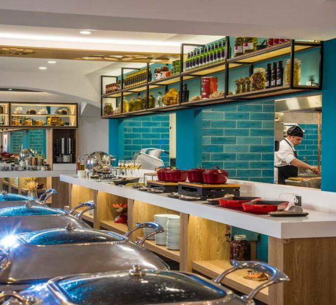 Infinity blue boutique hotel restaurant