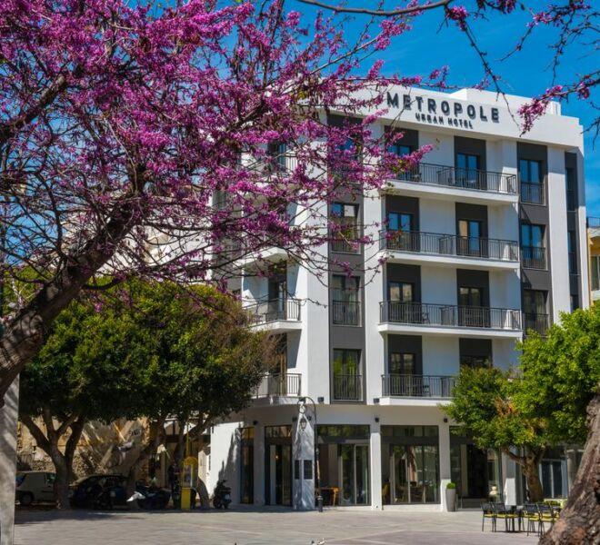 Metropole urban hotel view