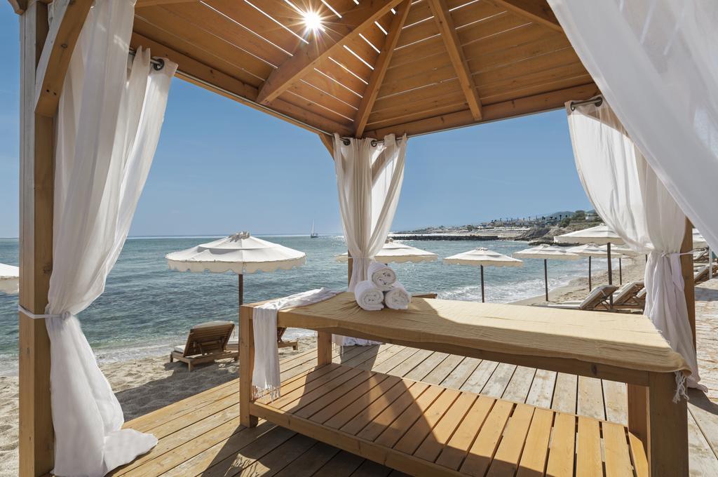 mitsis laguna resort and spa massage outside