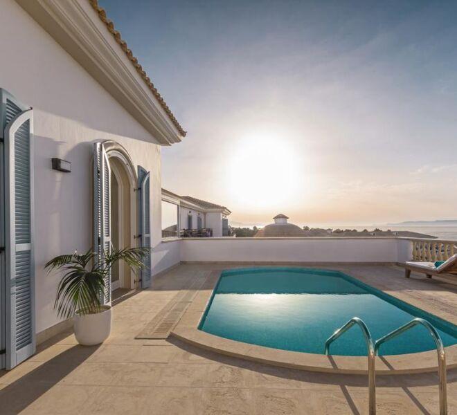 mitsis laguna resort and spa suite swimming pool