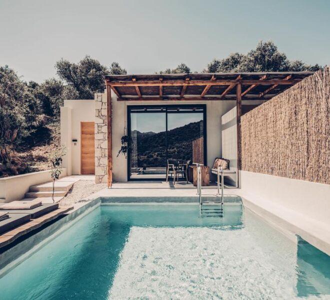 monastery estate retreat private pool