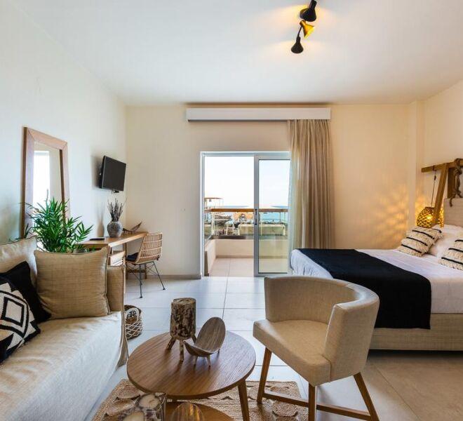 Nostos beach boutique hotel room