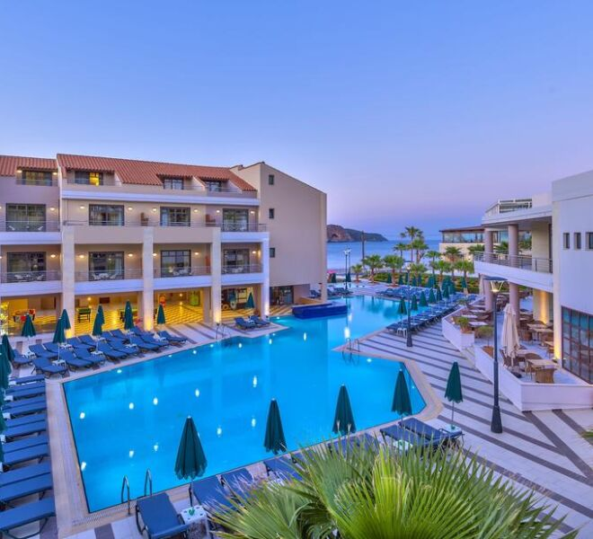 Porto Platanias Beach Resort & Spa general view