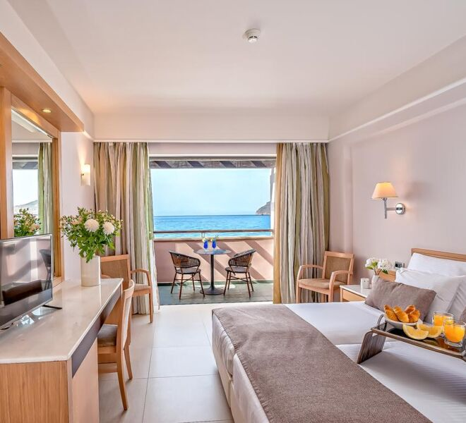 Porto Platanias Beach Resort & Spa bedroom