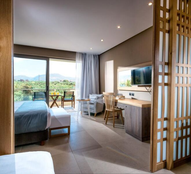 stella palace resort and spa room view