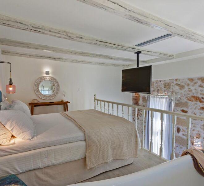 thalassa boutique bedroom