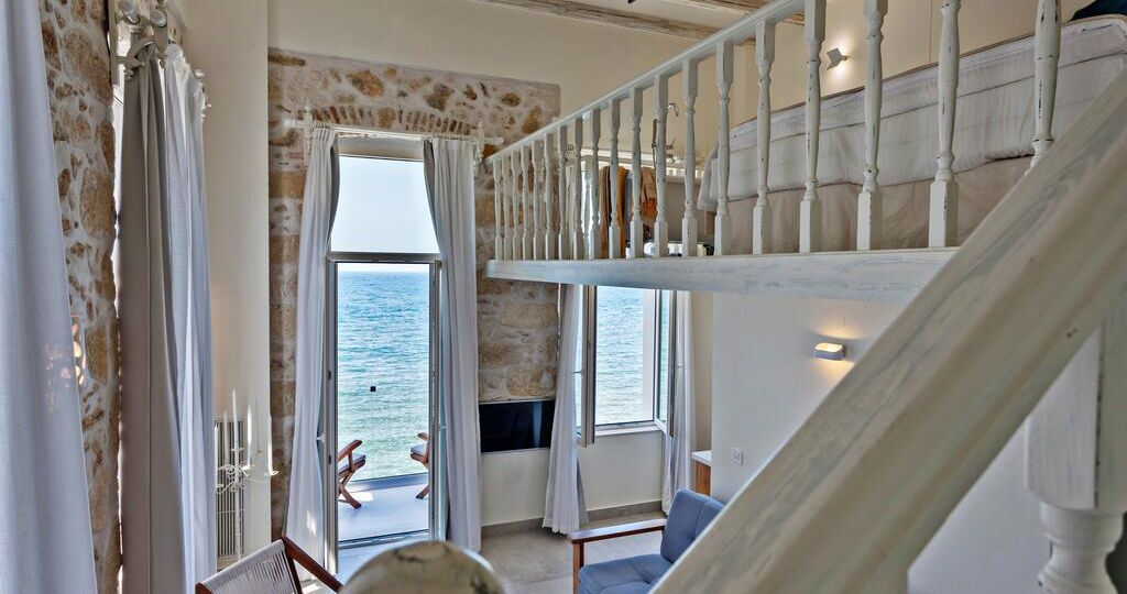 thalassa boutique bedroom loggia