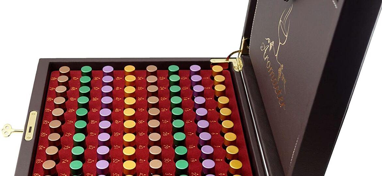 Aromaster master wine aroma kit 88 aromas box detail