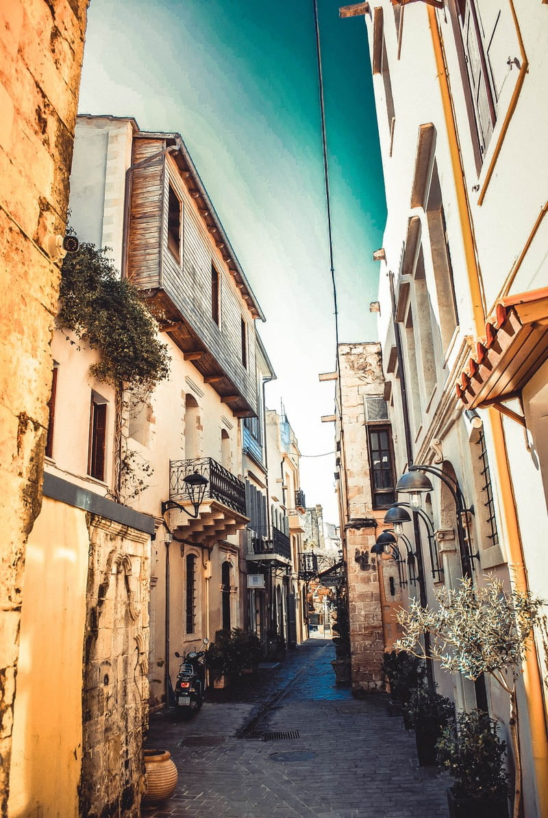 Streets of Chania old town