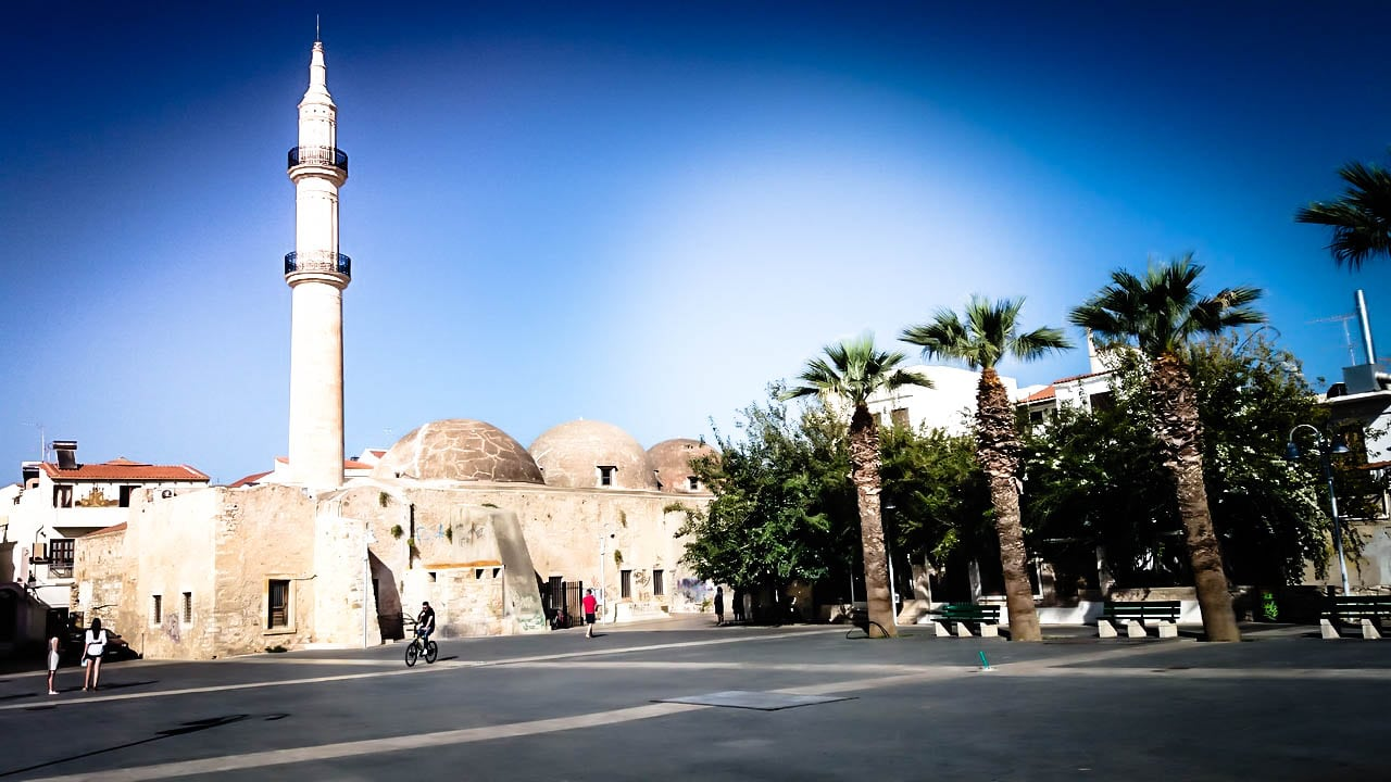 Retymno town mosquee
