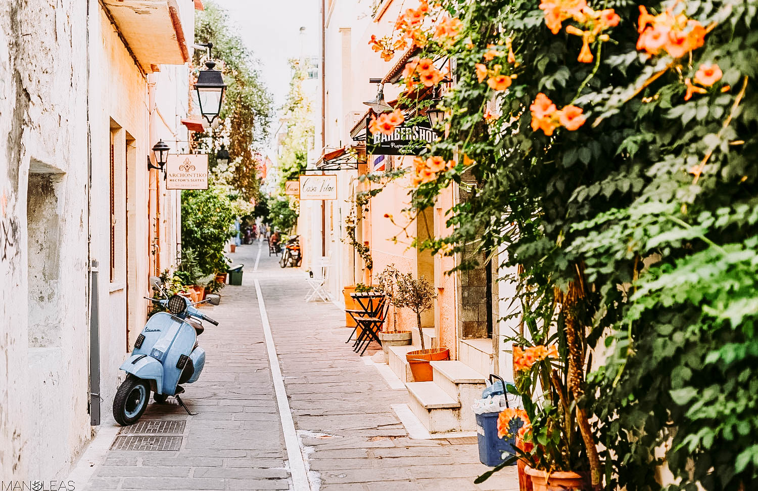 Streets of old rethymno
