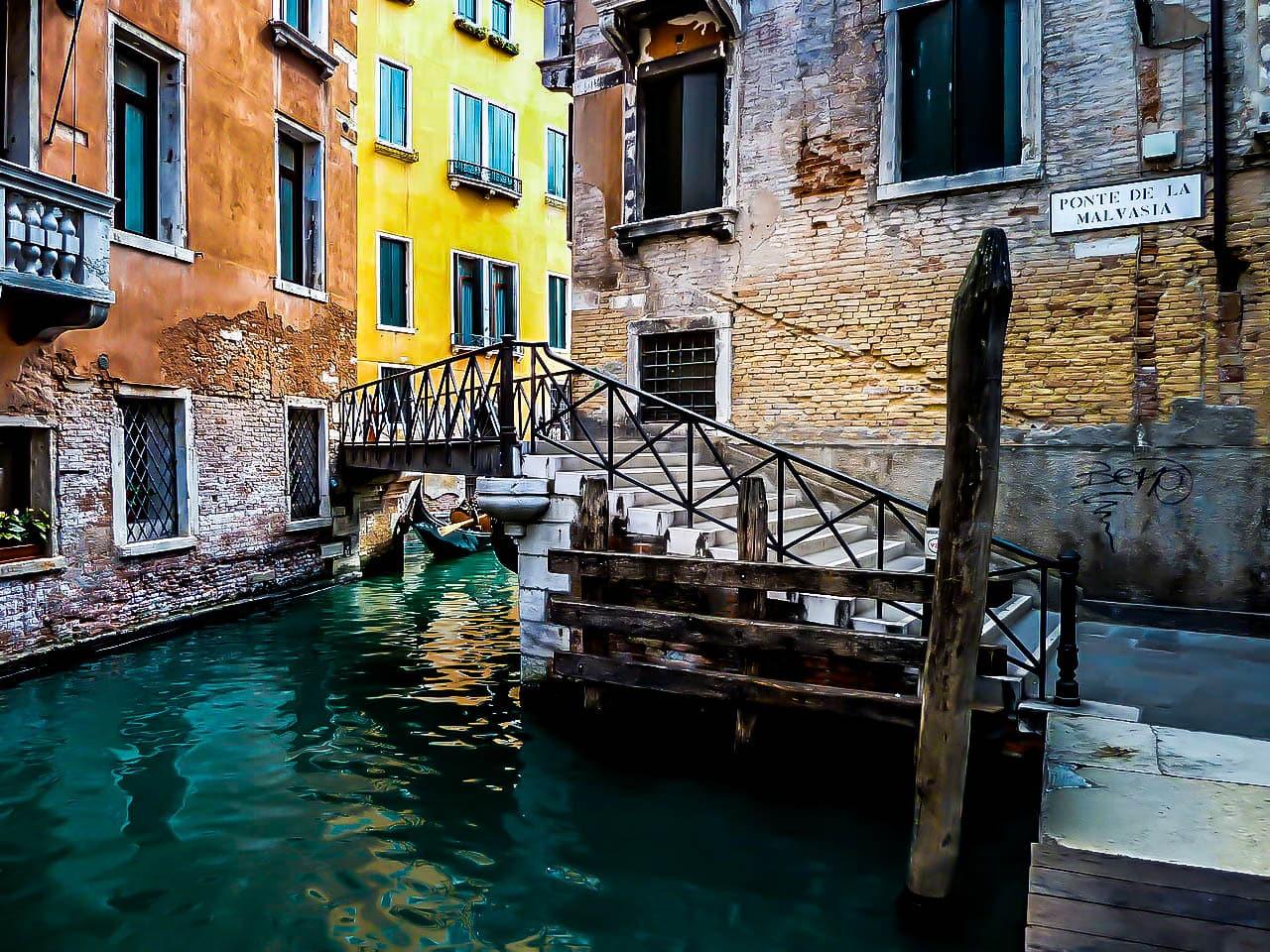 Ponte della malavasia Venise.
